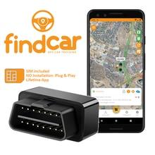 GPS-трекер findCar OBD для автомобильного OBD-трекера без установки. Подключи и работай. Сигнализация скорости, защита от кражи, геоэффективность. П...