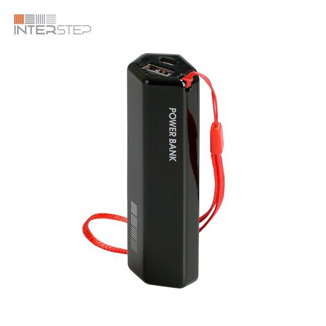 Набор 5 штук внешних аккумуляторов INTERSTEP PB30001U черный