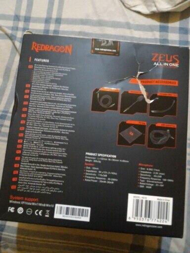 -- microfone redragon gaming
