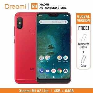 Image 1 - Global Version Xiaomi Mi A2 Lite 64GB ROM 4GB RAM (Black Color only) Official Rom