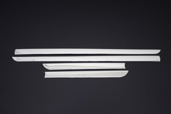For Seat Ibiza 6j Accessories 2009-2016 Ibiza 6j Accessories Chrome Side Door Line Chrome Stainless Steel