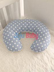Jaju Baby Blue Star Patterned Breastfeeding Pillow - Support Cushion