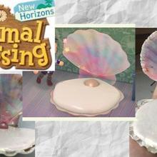 Animal crossing: new horizons   Shell pack - 18 DIYs + Mats