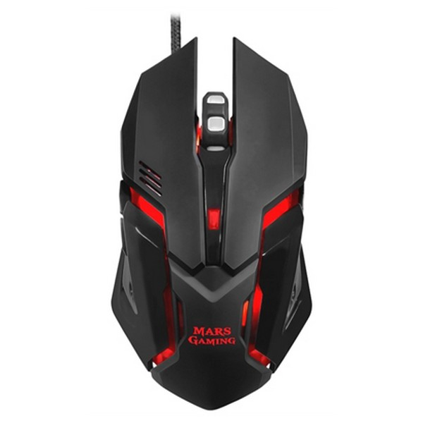 Gaming Mouse Mars Gaming MRM0 4000 DPI Black