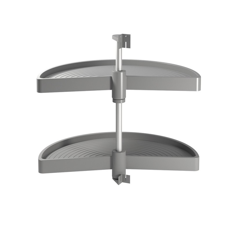 Game Trays Shelvo Emuca 1/2 Luna Module For 800 Mm In Gray Plastic