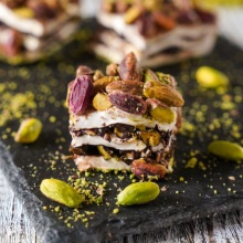 Удивительный турецкий двойной жареный фисташковый роскошный% 100 ручная работа турецкий восторг веганские конфеты вкусные Изысканные сладкие 450 грамм