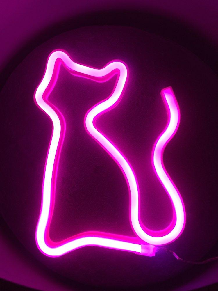Lâmpadas de néon e tubos Crianças Quarto Início