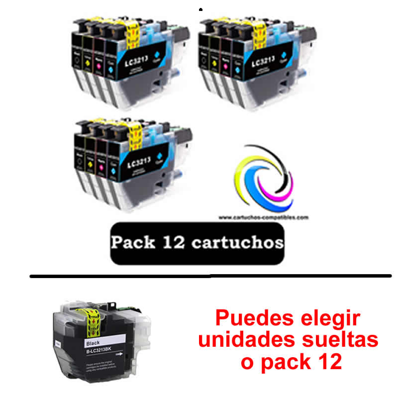 To Brother LC3211 LC3213 Pack 12 Or Black Compatible To MFC J491DW MFC J497DW MFC J890DW MFC J895DW