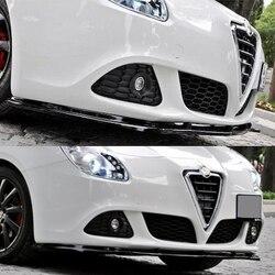 Dla Alfa Romeo Giulietta akcesoria Alfa Romeo Giulietta mocowanie przedniego zderzaka fortepian czarny