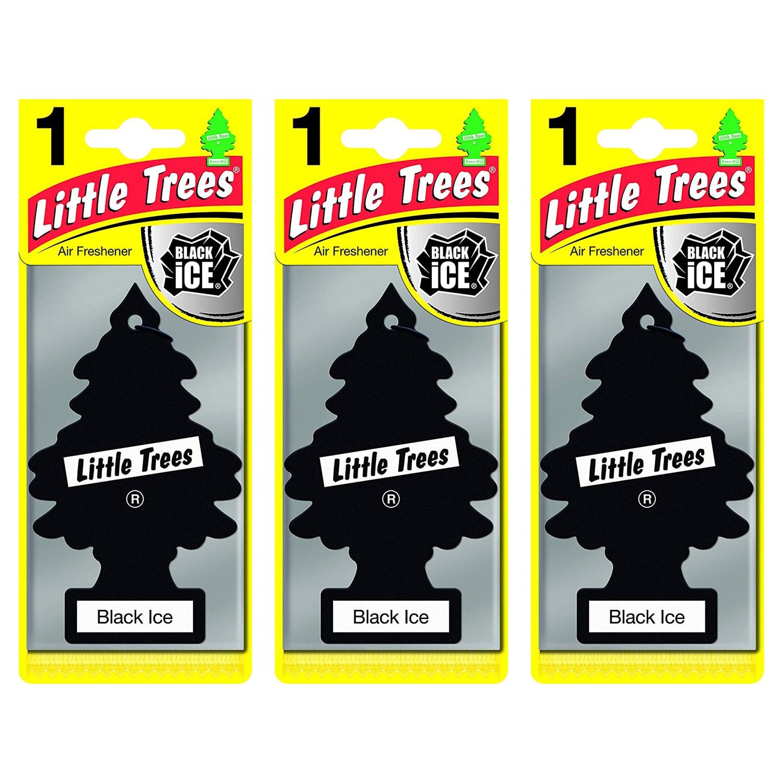 Little Trees Black Ice Asma Oto Kokusu 3 Adet