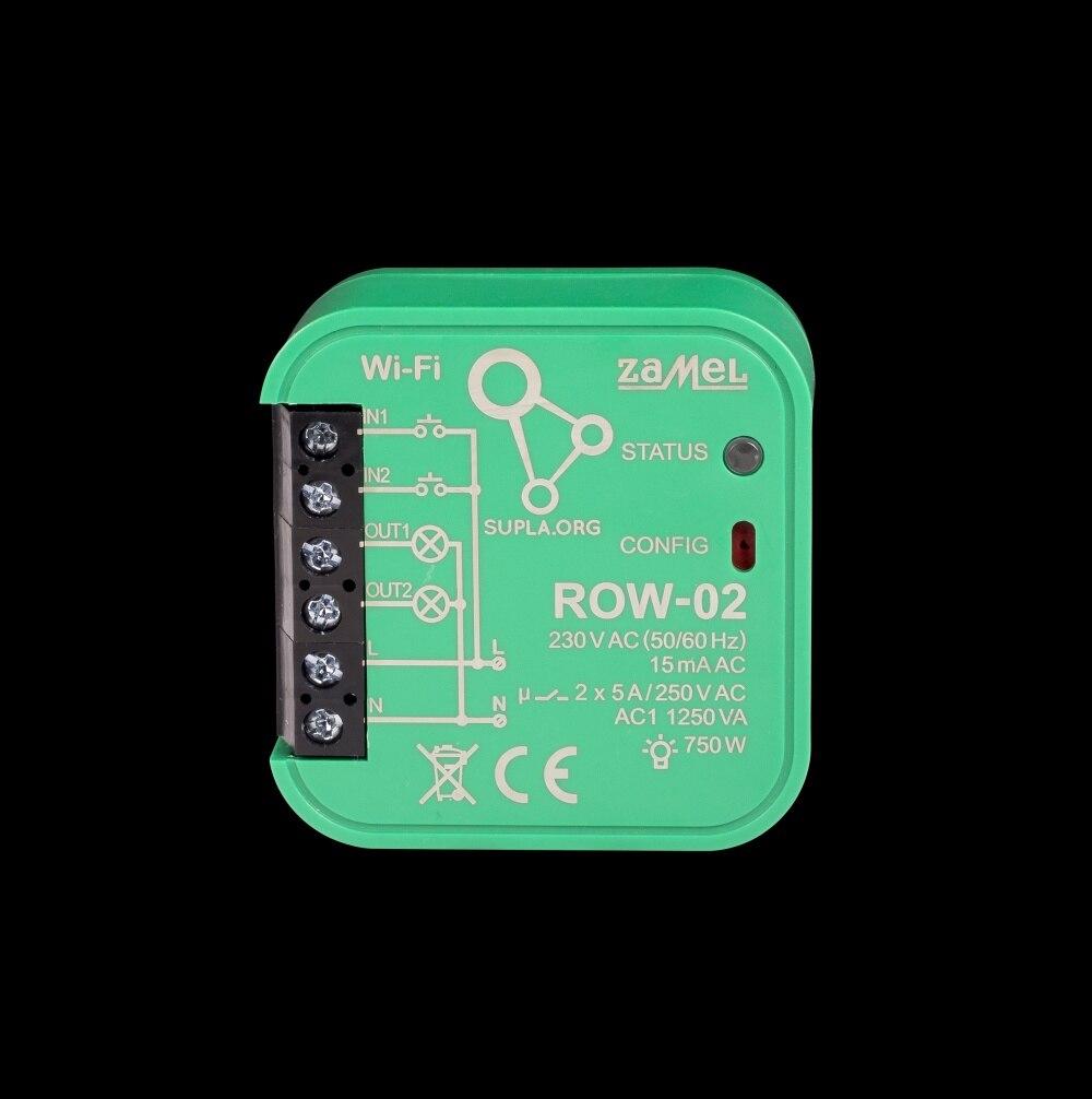 Zamel Supla 2 канальный радиоприемник WIFI ROW 02|Управление умным домом| | АлиЭкспресс