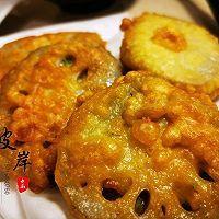 香酥藕饼#太太乐鲜鸡汁芝麻香油#的做法图解6
