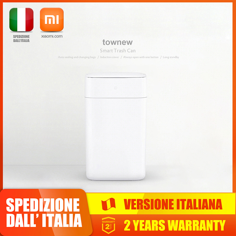 Xiaomi Mijia Townew T1 Smart Trash Can Motion Sensor Auto Sealing LED Induction Cover Trash 15.5L Smart Home Xiaomi Trash Can