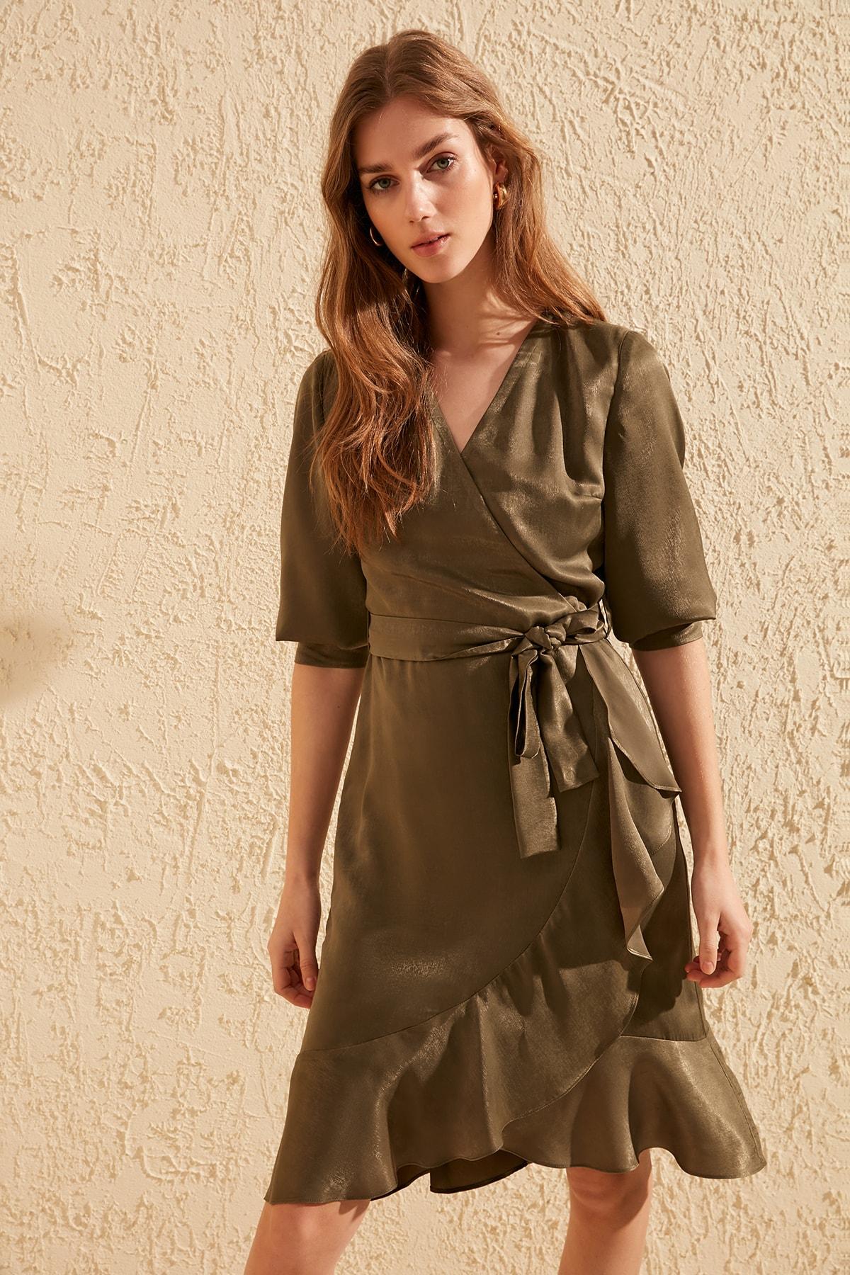 Trendyol Double Breasted Dress TWOSS20EL0683