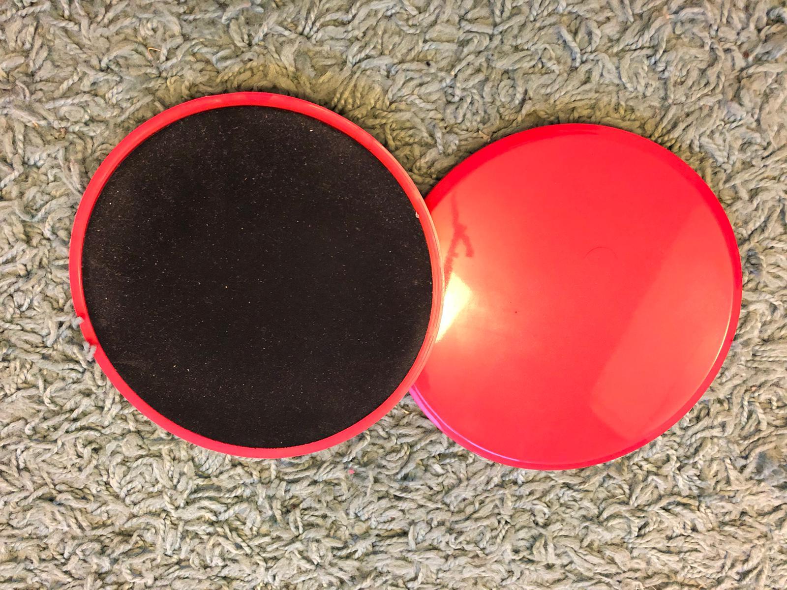 Gliding Disc 2 Pcs Set photo review
