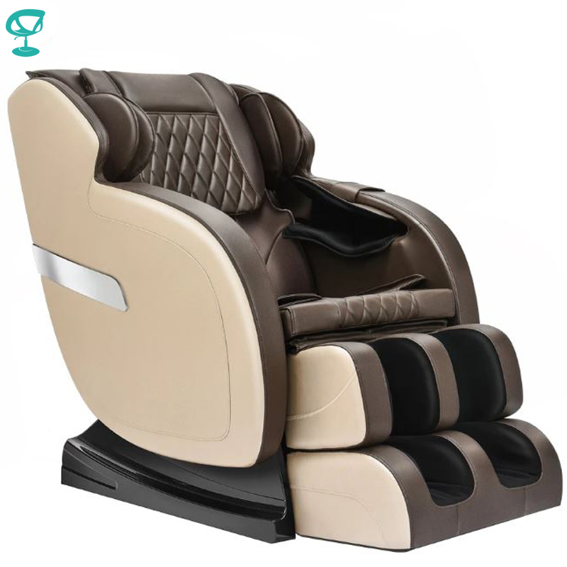 95689 Barneo Fav-05 Chair Massage Brown Chair Massage Chair With Massage Free Shipping To Russia