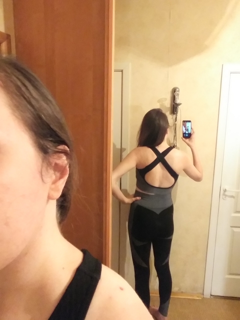 Seamless Yoga Set For Women photo review