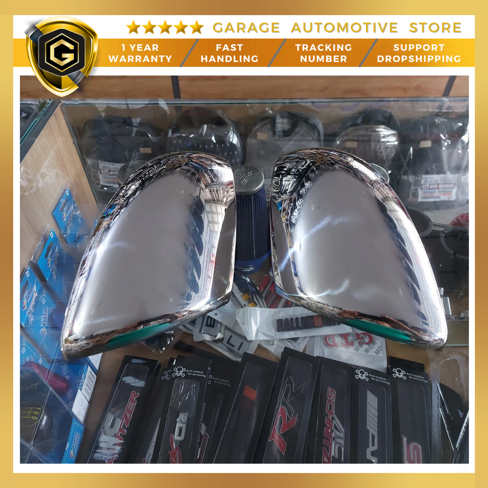 For Dacia Duster Stainless Steel Chrome Accessory Mirror Cover 2018 - 2021 2 Pcs