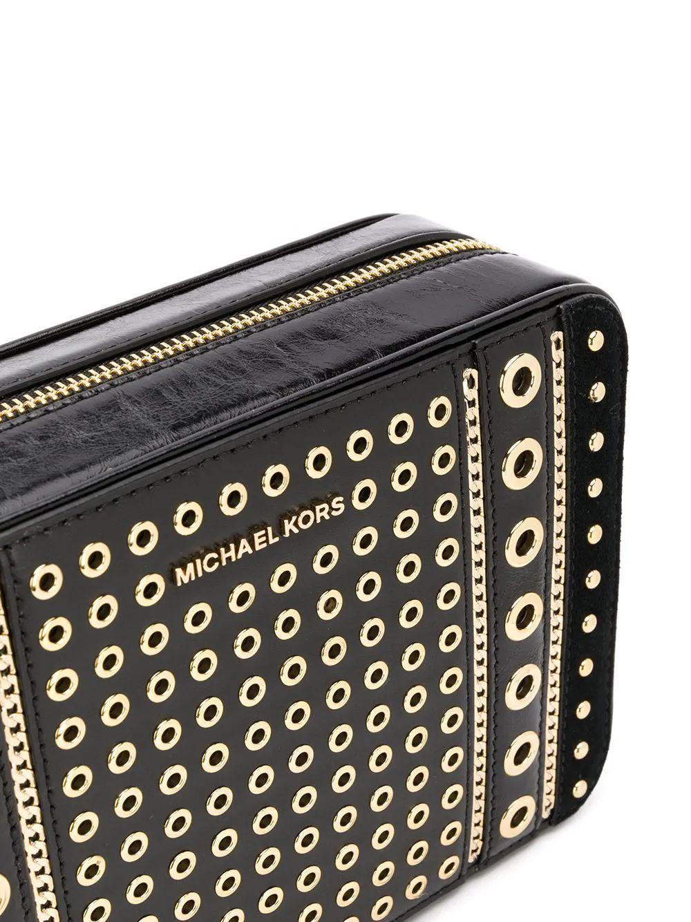 MICHAEL KORS handbag shoulder 32 H9GJ6M2U001 leather black