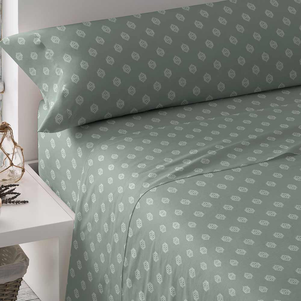 PimpamTex - Set Of Sheets With Patterns, 3 Pieces For Bed. Sizes 90, 105, 135, 150 Or 180. Poly-cotton Sheets For Bed