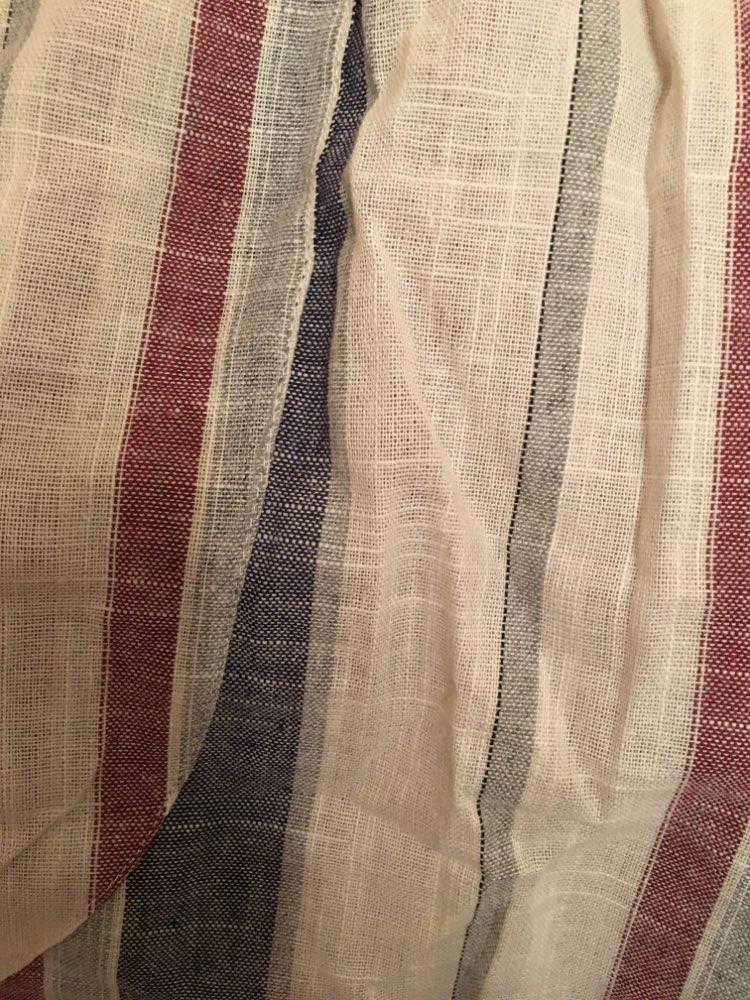 Plus Size Cotton Linen Trousers Women Summer Loose Harem High Waist Stripe Pocket Pant Casual Pantalon Female Sweatpants Trouser photo review