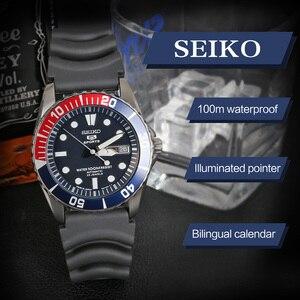 Image 3 - セイコー腕時計メンズ 5 腕時計自動高級ブランド防水スポーツ腕時計日付メンズダイビング時計レロジオ masculin snzf