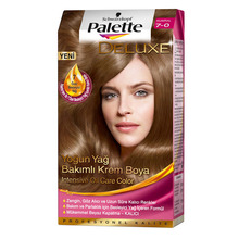 Палитра краска для волос 7-0 Auburn