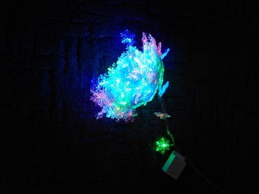 Fios de LED 100led Guirlanda Flocos