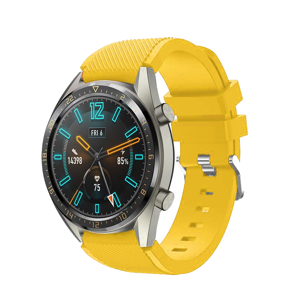 Correas pulsera de recambio para Huawei Watch GT 2 / Honor Magic Watch 2, 42 y 46mm silicona flexible de colores cierre de metal-5