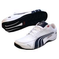 Genç ayakkabı BMW motor sporları sürüklenme kedi 4L beyaz boyutu 28 -