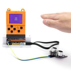 Image 5 - Elecrow Meowbit Codable Konsolu Programlanabilir Oyun Konsolları Microsoft Makecode Arcade ile 1.8 inç 160x128 TFT Renkli Ekran