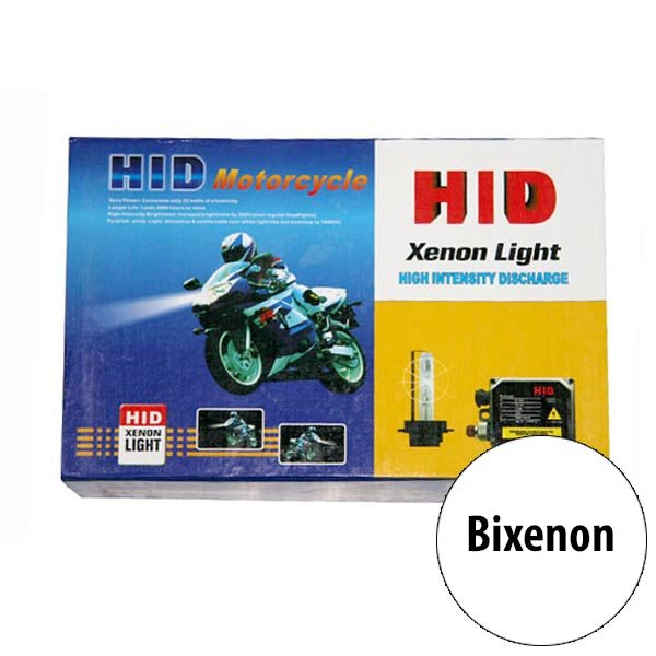Kit Xenon H4/H4-3 So Motos With Electromagnet For Long And Short. Light 6000 K 35 W. Ballast SLIM