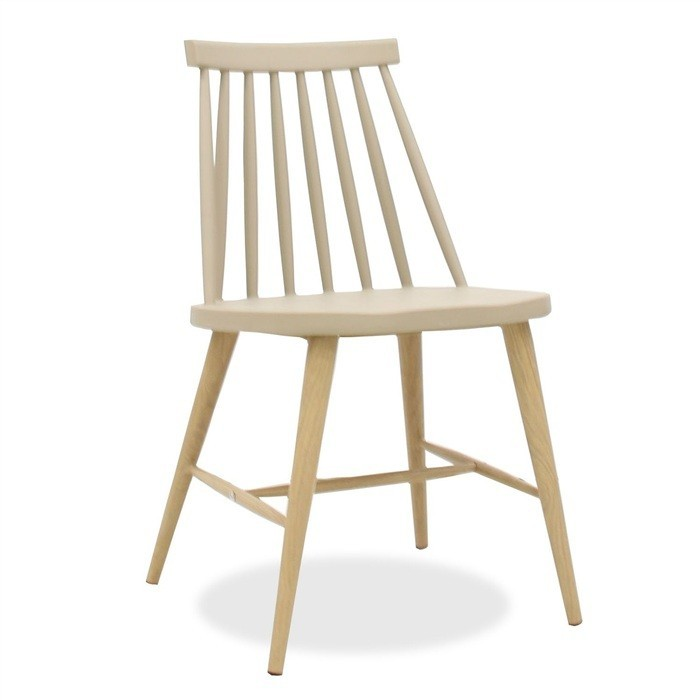 Chair CAMUS Metal Beige