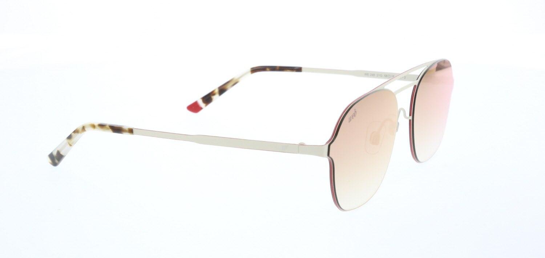 Unisex sunglasses w 0248 21g metal cream organic square square 58-18-145 web