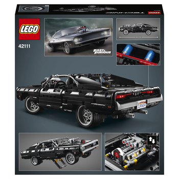 Конструктор LEGO Technic Dodge Charger Доминика Торетто 3