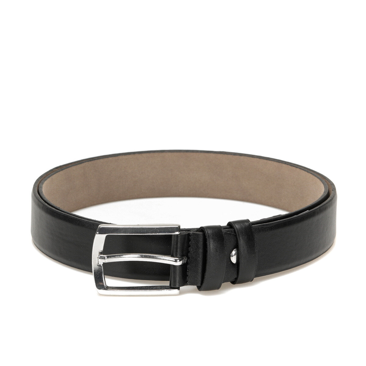 FLO MGVN3401 Black Male Belt Garamond