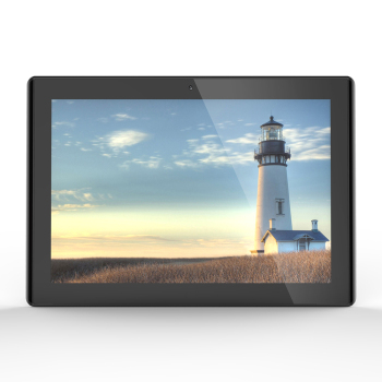 10 inch PoE tablet wall mounted in white or black(RK3288, 2GB DDR3, 16GB flash, Android 8.1, VESA, BT, wifi, wall bracket)