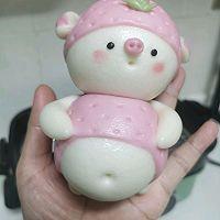 草莓猪&西瓜猪的做法图解26