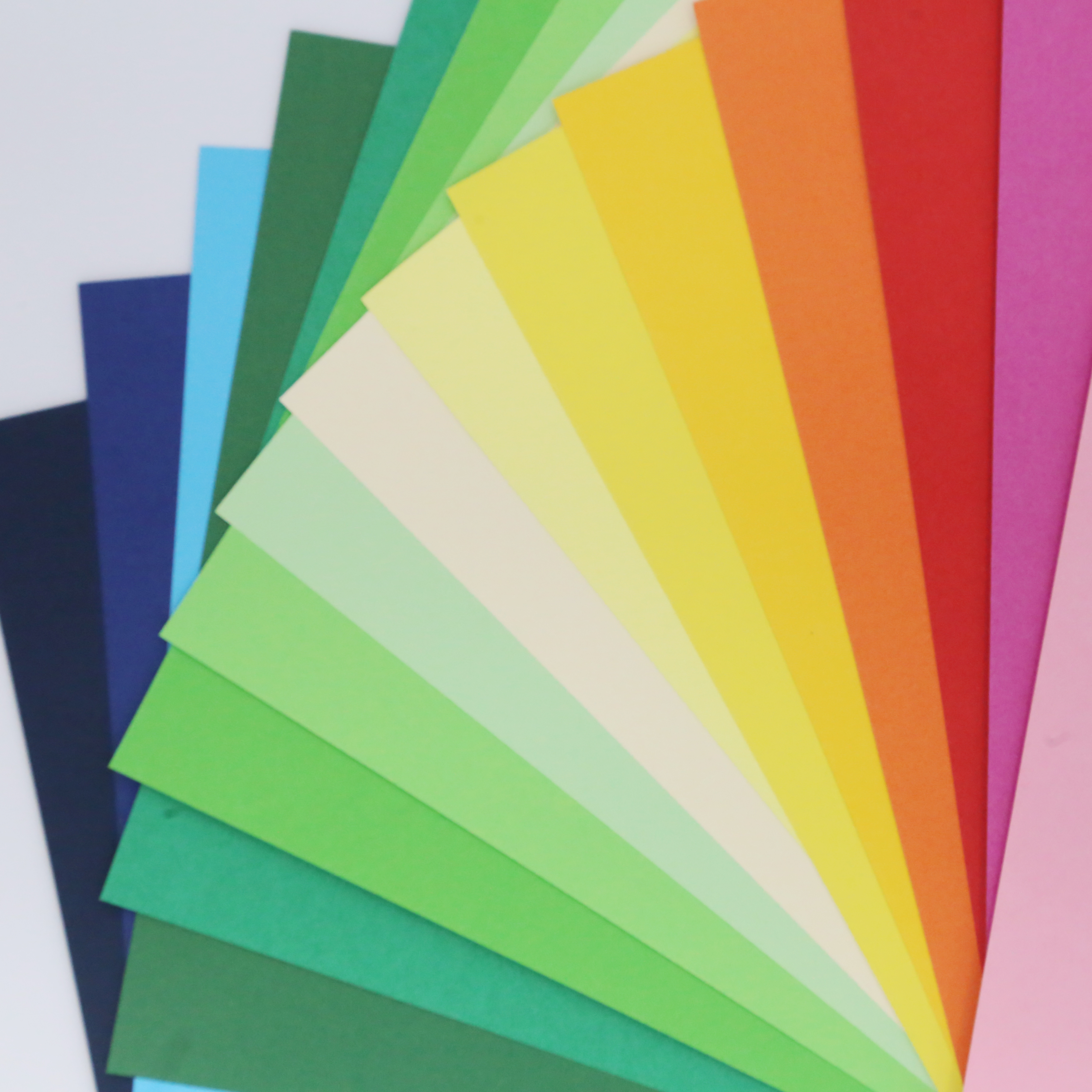 50uds Card Craft's Sheet Thick Paper Colored Paper A4 180g