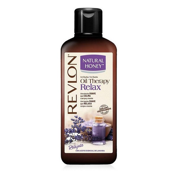Shower Gel Oil Therapy Relax Natural Honey (650 Ml)