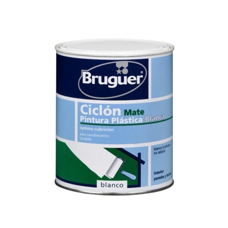 White matte plastic paint 750ML ...