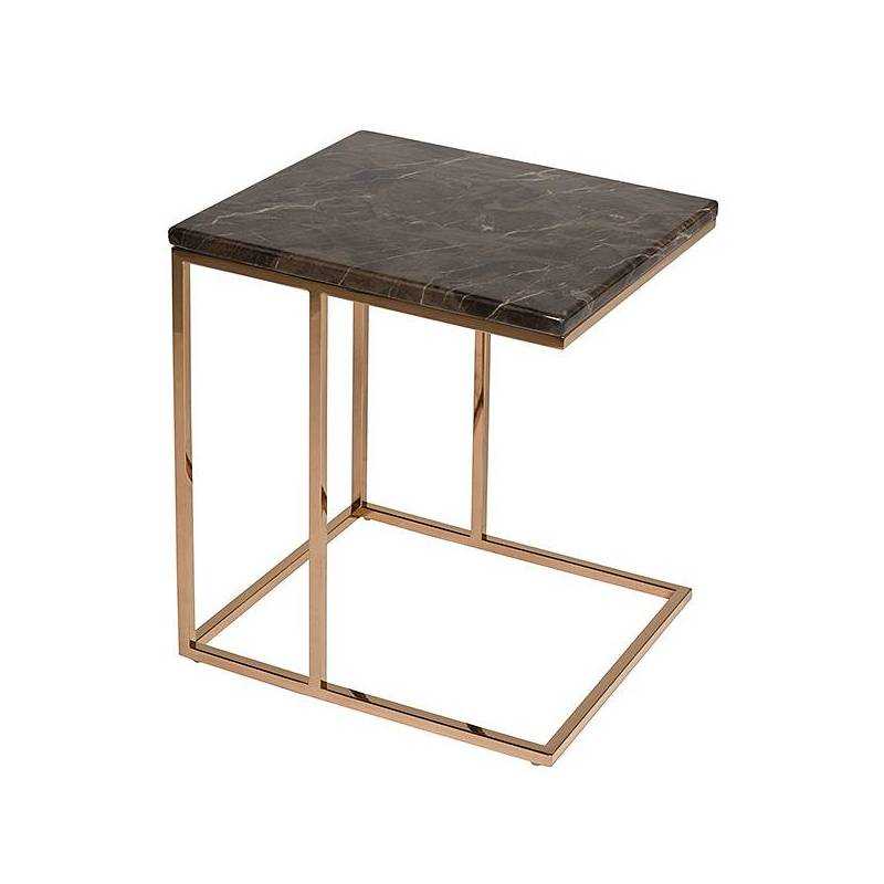 Side Table Marble (45x40x50 Cm)