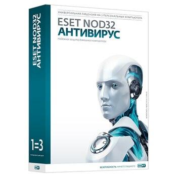 ESET NOD32 Antivirus license for 2 years for 3 PCs nod32-ena-ns (Ekey)-2-1