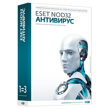 ESET NOD32 Antivirus license renewal for 2 years by 3 PCs nod32-ena-rn (Ekey)-2-1