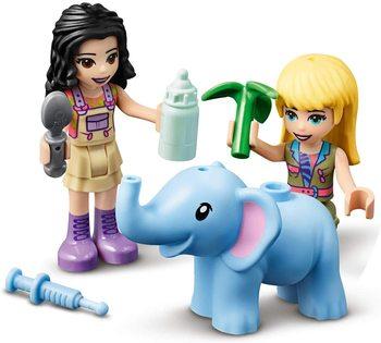 LEGO®Friends Kitten Elephant Rescue Operation Making Kit (203 piece) fluffy friends kitten sticker