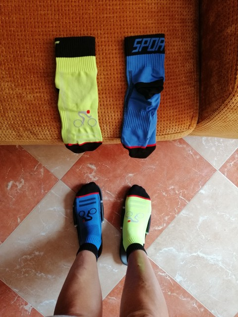 Calcetines de ciclismo para hombres y mujeres