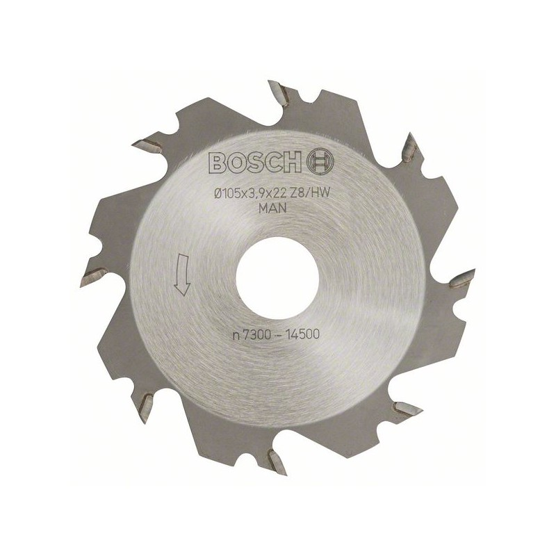 BOSCH-disc Cutters 8, 22 Mm 4 Mm