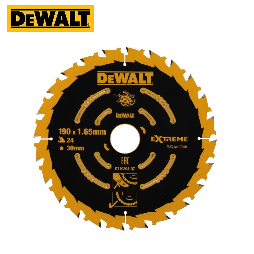 Circular Saw Blade For Wood DeWalt DT10302-QZ Tool Accessories Construction Accessory Saw Disk On A Tree Delivery From Russia