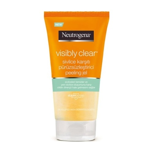 Neutrogena Visibly Clear Anti-Pimple Smoothing Peeling 150 Ml
