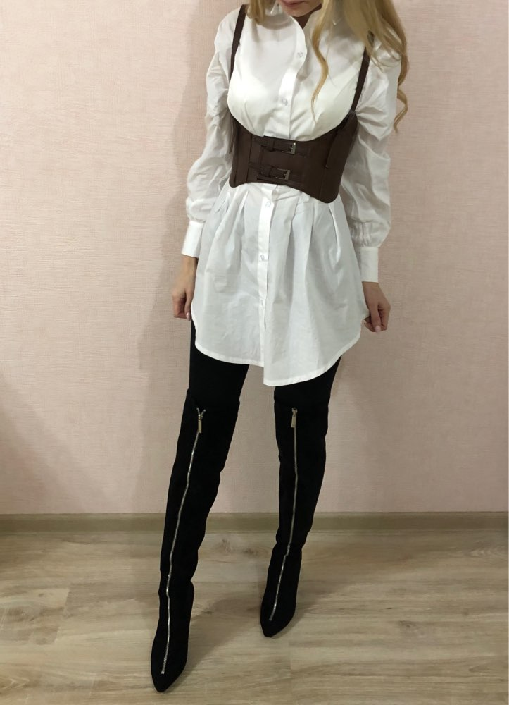 Batwing Sleeve White Mini Dress Women Office Lady Pleated Blouse Shirt Dress Autumn High Waist Slim Elegant Short Dress photo review